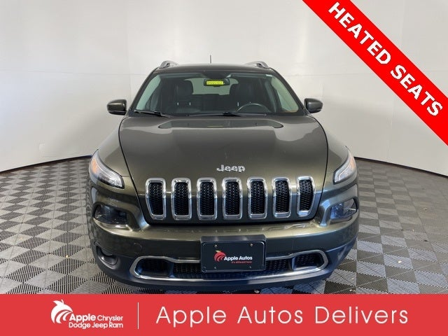 Used 2015 Jeep Cherokee Limited with VIN 1C4PJMDB3FW502666 for sale in Shakopee, Minnesota
