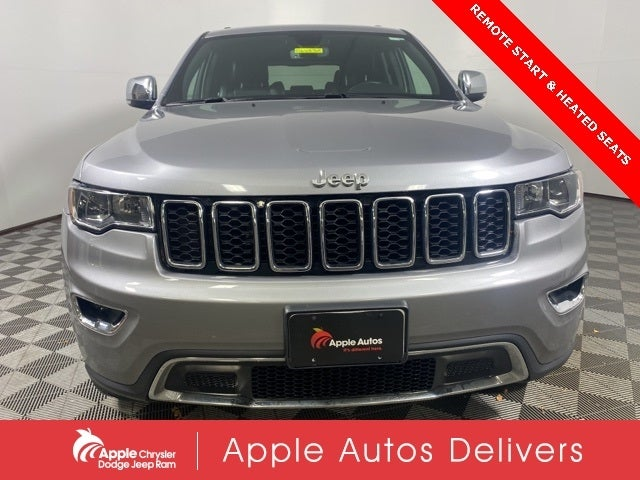 Used 2018 Jeep Grand Cherokee Limited with VIN 1C4RJFBG5JC510975 for sale in Shakopee, Minnesota