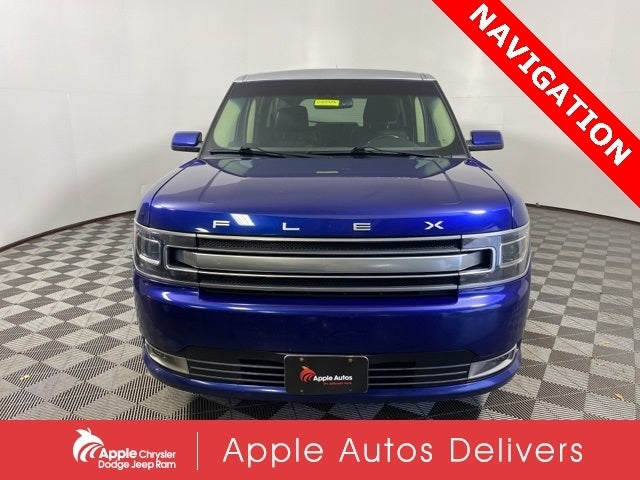 Used 2013 Ford Flex Limited with VIN 2FMHK6D89DBD38304 for sale in Shakopee, Minnesota