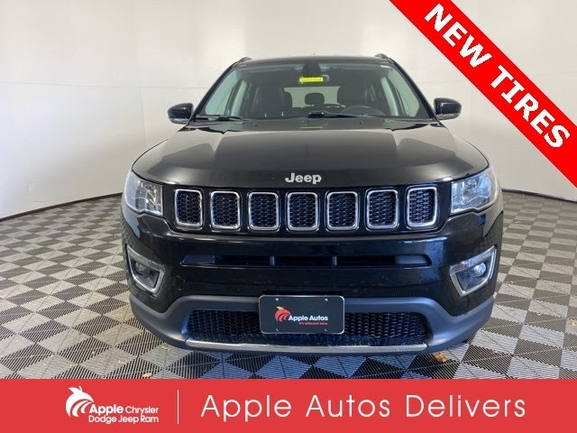 Certified 2018 Jeep Compass Limited with VIN 3C4NJDCB2JT210790 for sale in Shakopee, Minnesota