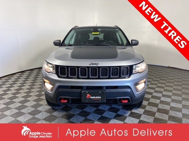 Used 2018 Jeep Compass Trailhawk with VIN 3C4NJDDB7JT419313 for sale in Shakopee, Minnesota