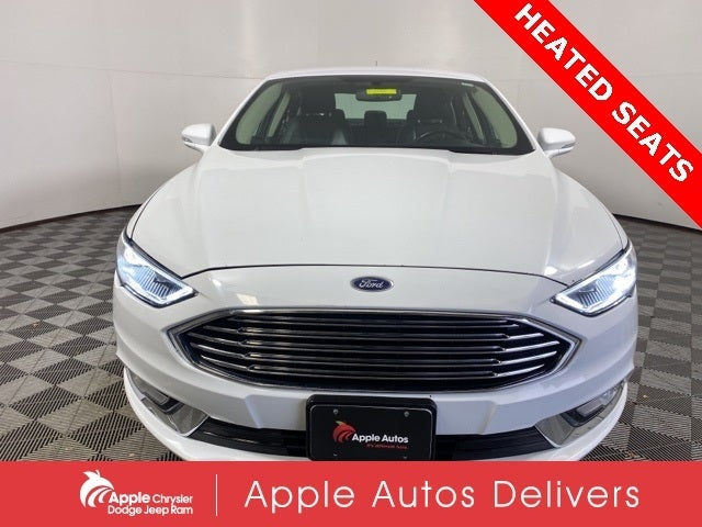 Used 2017 Ford Fusion Titanium with VIN 3FA6P0K99HR146612 for sale in Shakopee, Minnesota