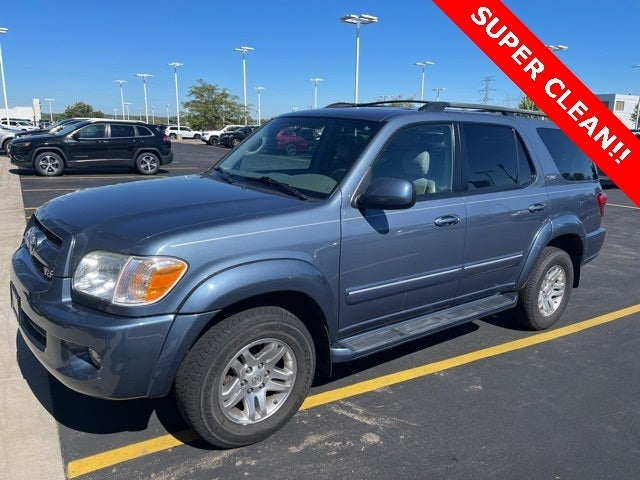 Used 2007 Toyota Sequoia SR5 with VIN 5TDBT44A47S280720 for sale in Shakopee, Minnesota